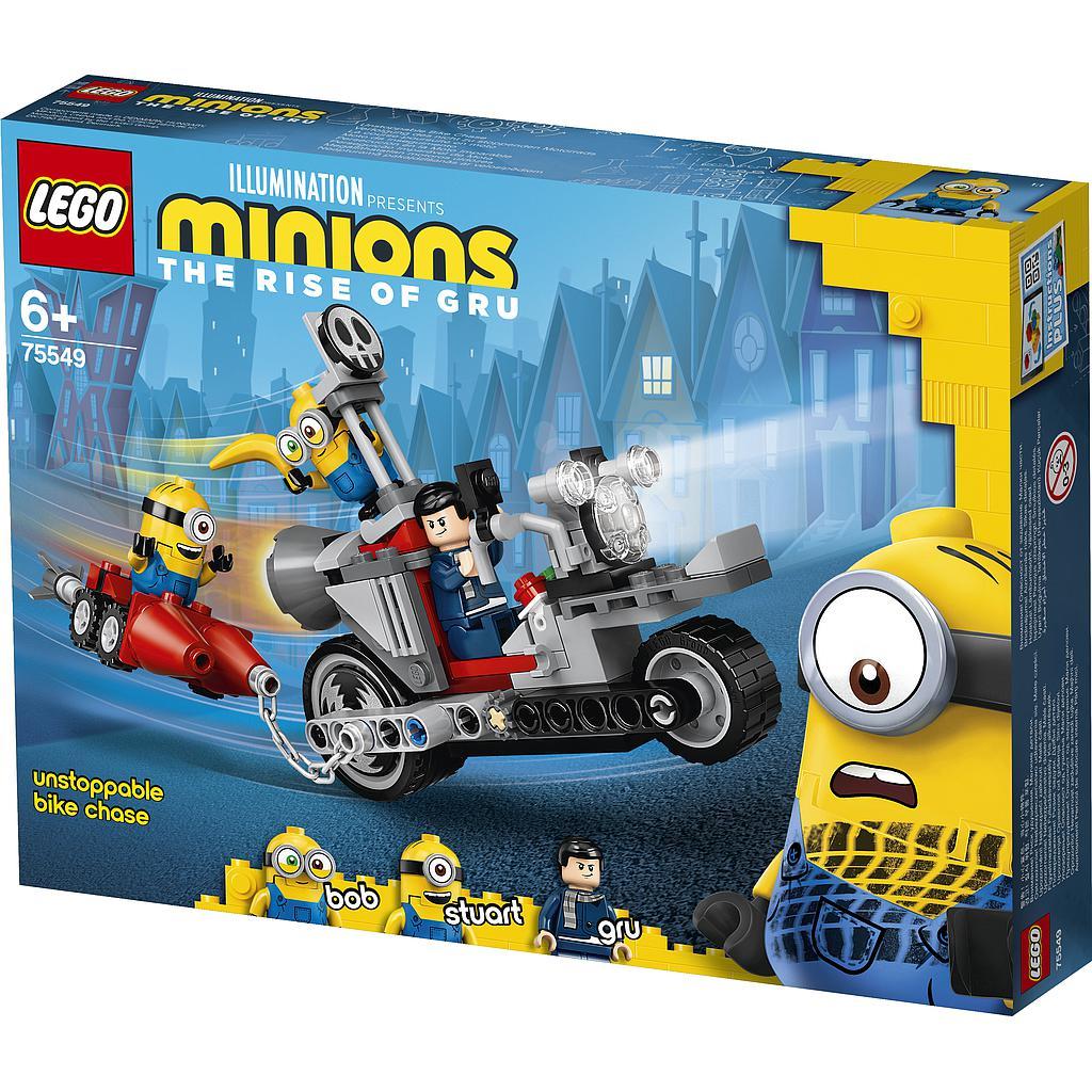 LEGO Minions Pidurdamatu tagaajamine rattal