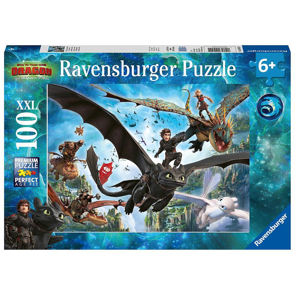 Ravensburger pusle 100 tk Draakonid 3