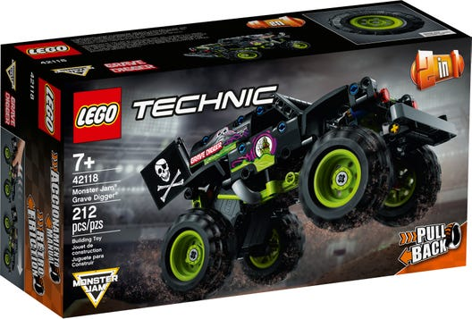 LEGO Technic Monster Jam hauak..