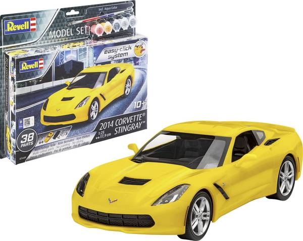 Revelli Model Set 2014 Corvette Stingray