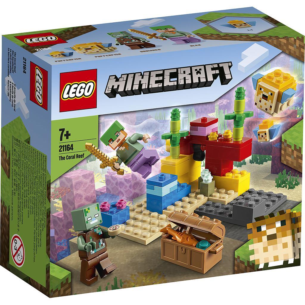 LEGO Minecraft Korallrahu