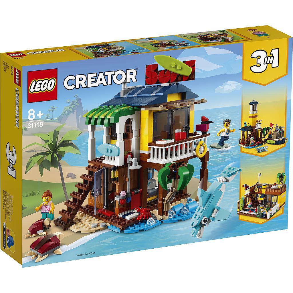 LEGO Creator Surfari rannamaja