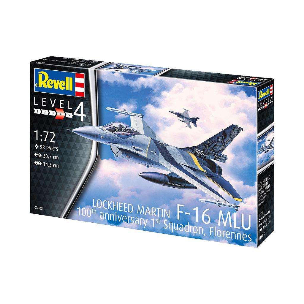 """Revell F-16 Mlu""""100th Anniversary"""" 1:72"""