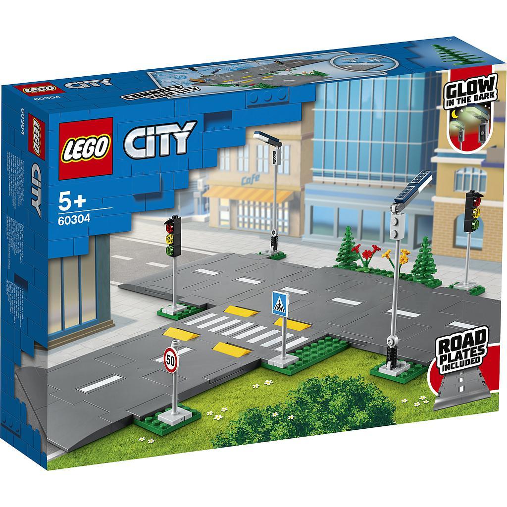 LEGO City Teeplaadid