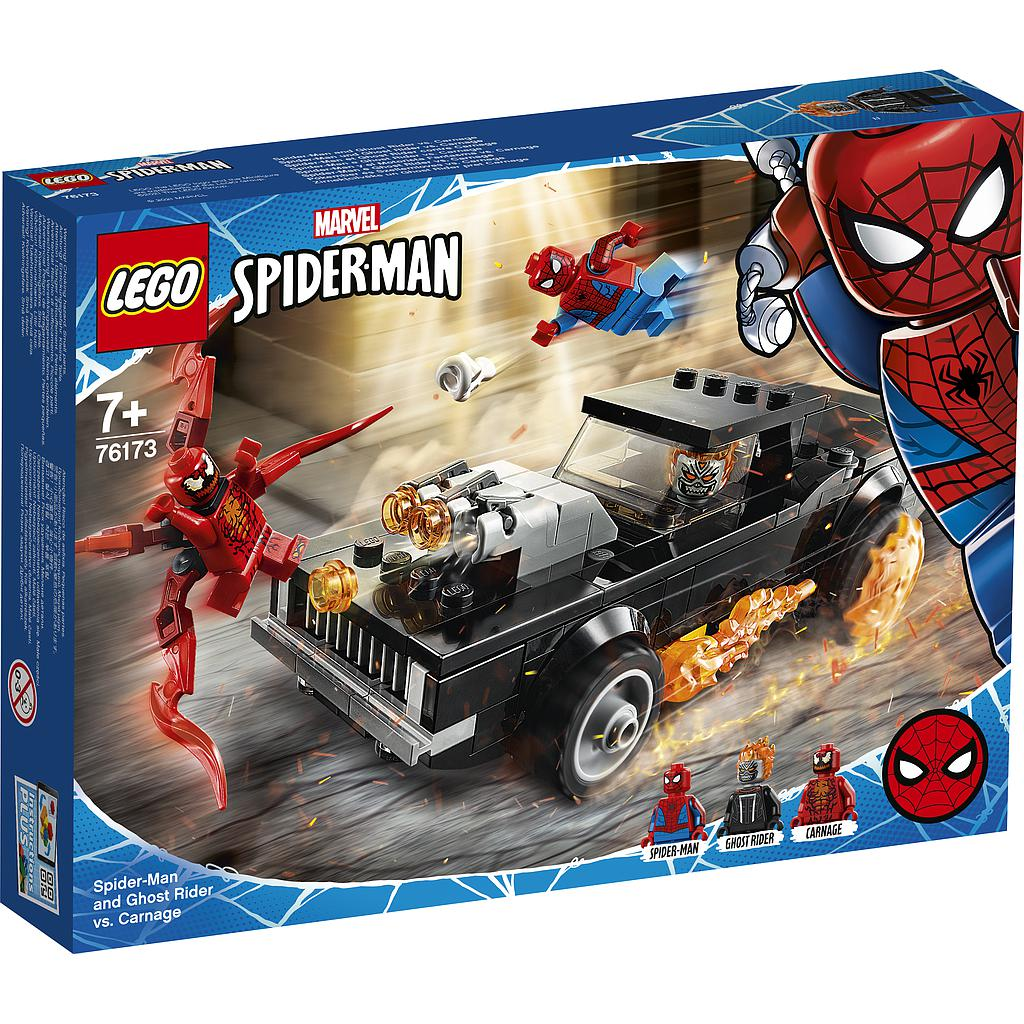LEGO Super Heroes Spider-Man Ghost Rider vs.Carnag..