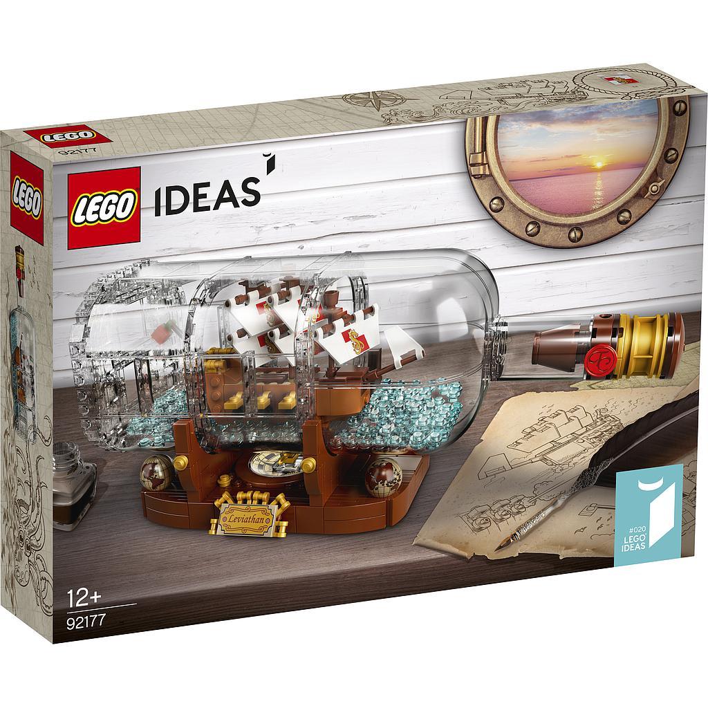 LEGO Ideas Laev pudelis