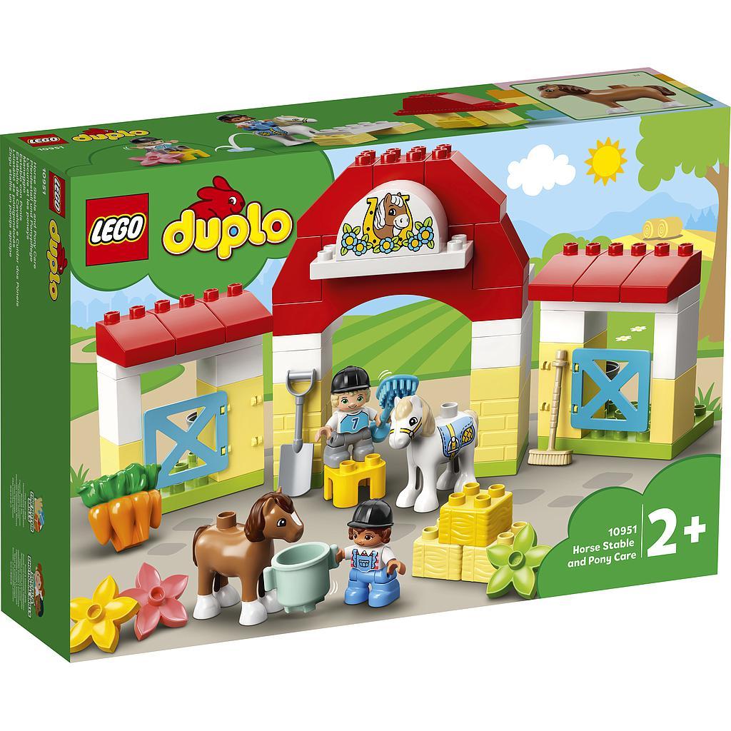 LEGO DUPLO Hobusetall ja ponikodu