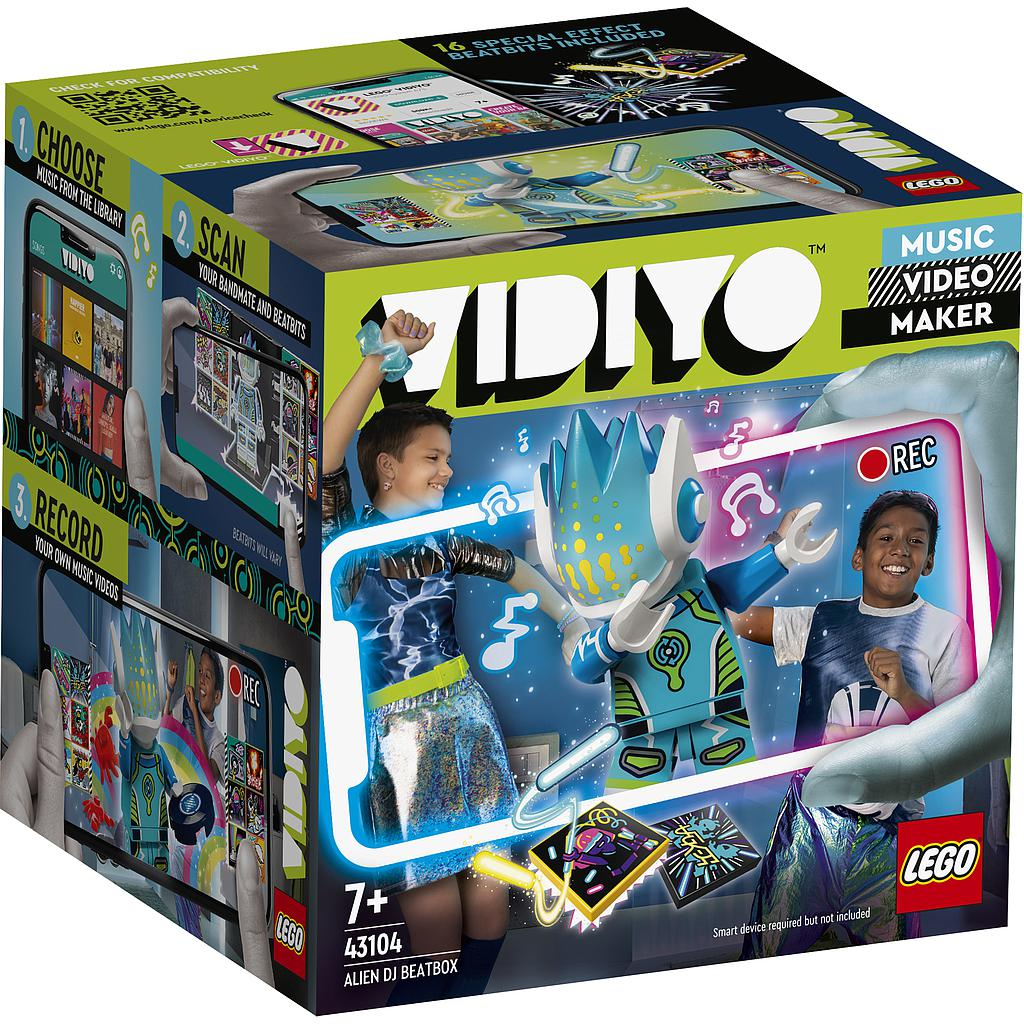 LEGO Vidiyo Tulnukas DJ
