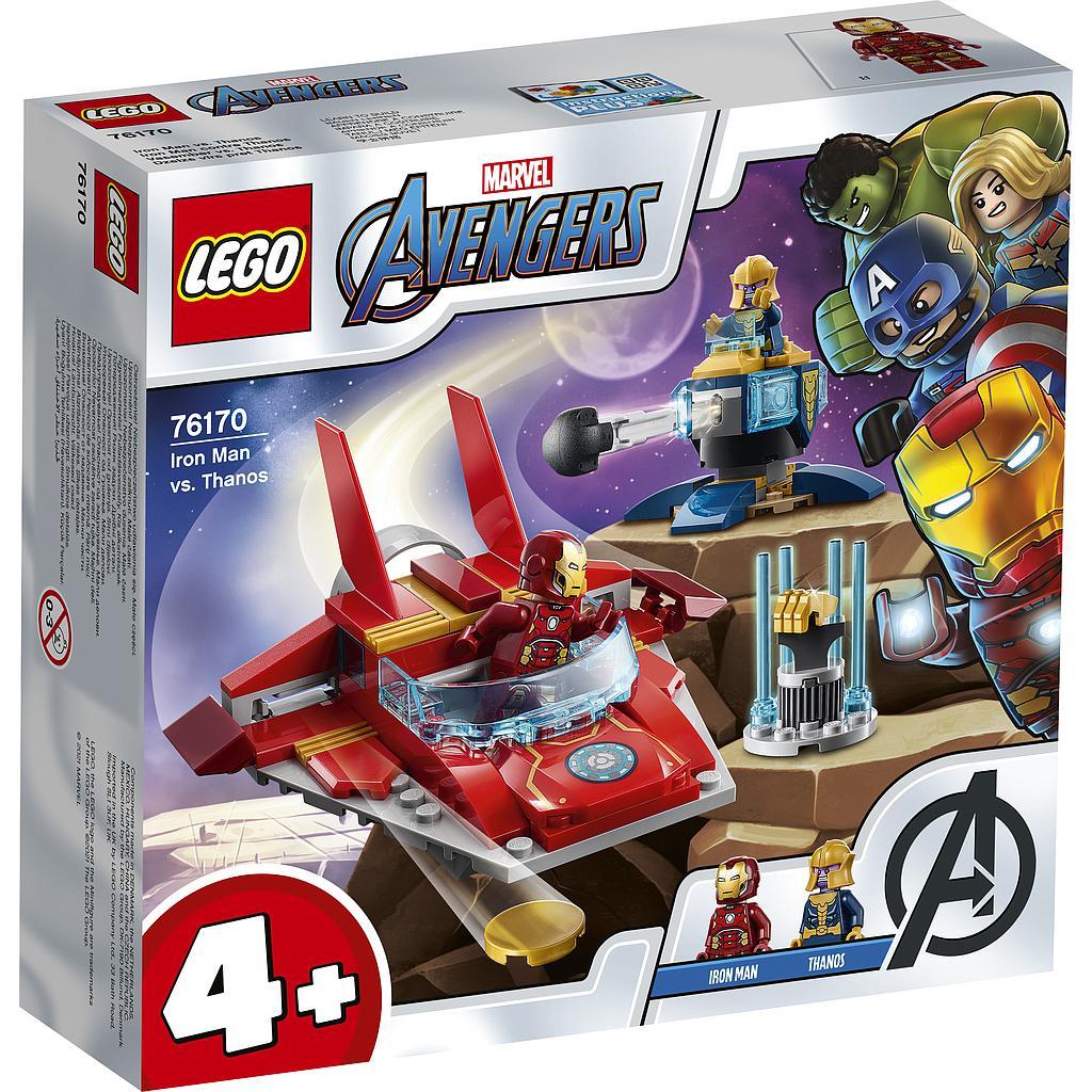 LEGO Super Heroes Raudmees vs...