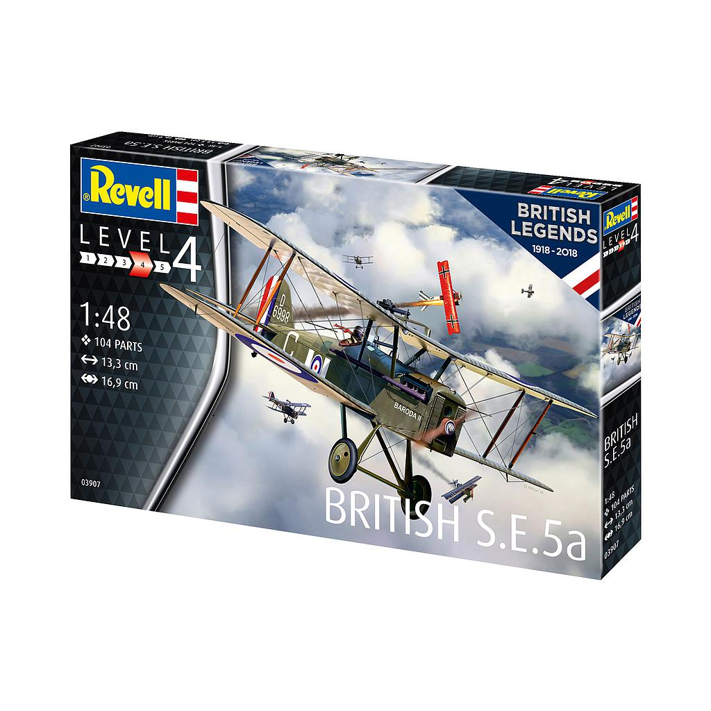 Revell 100 Years RAF: British S.E. 5a 1:..