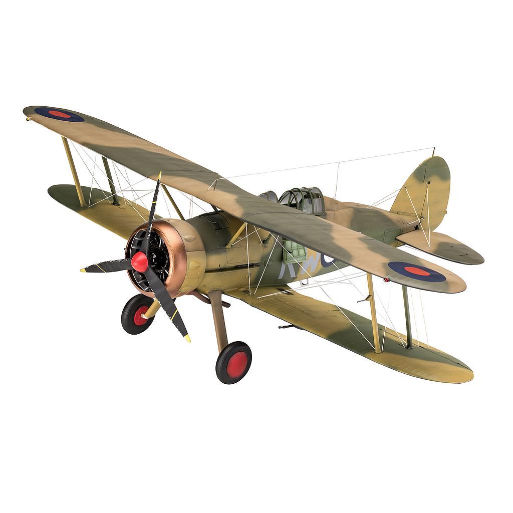 Revell Gloster Gladiator Mk. I..