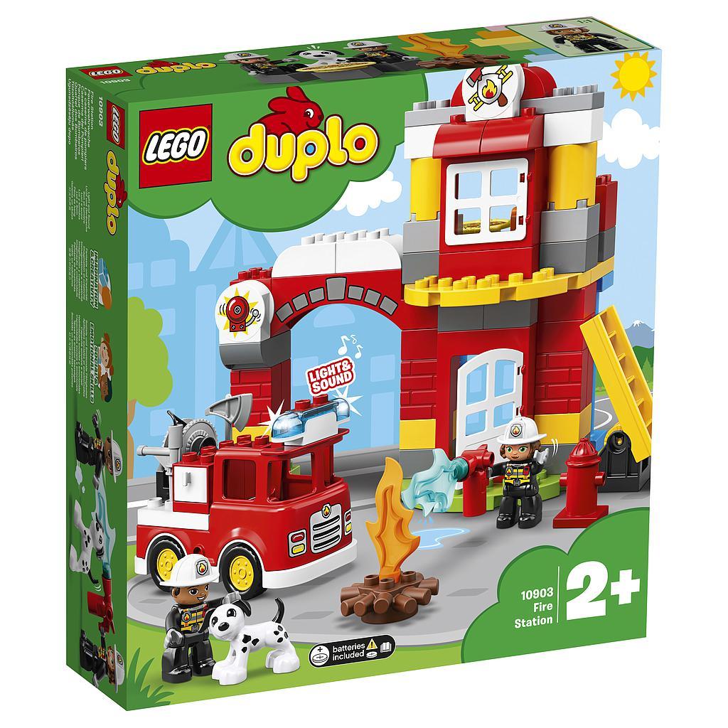 LEGO DUPLO Tuletõrjedepoo
