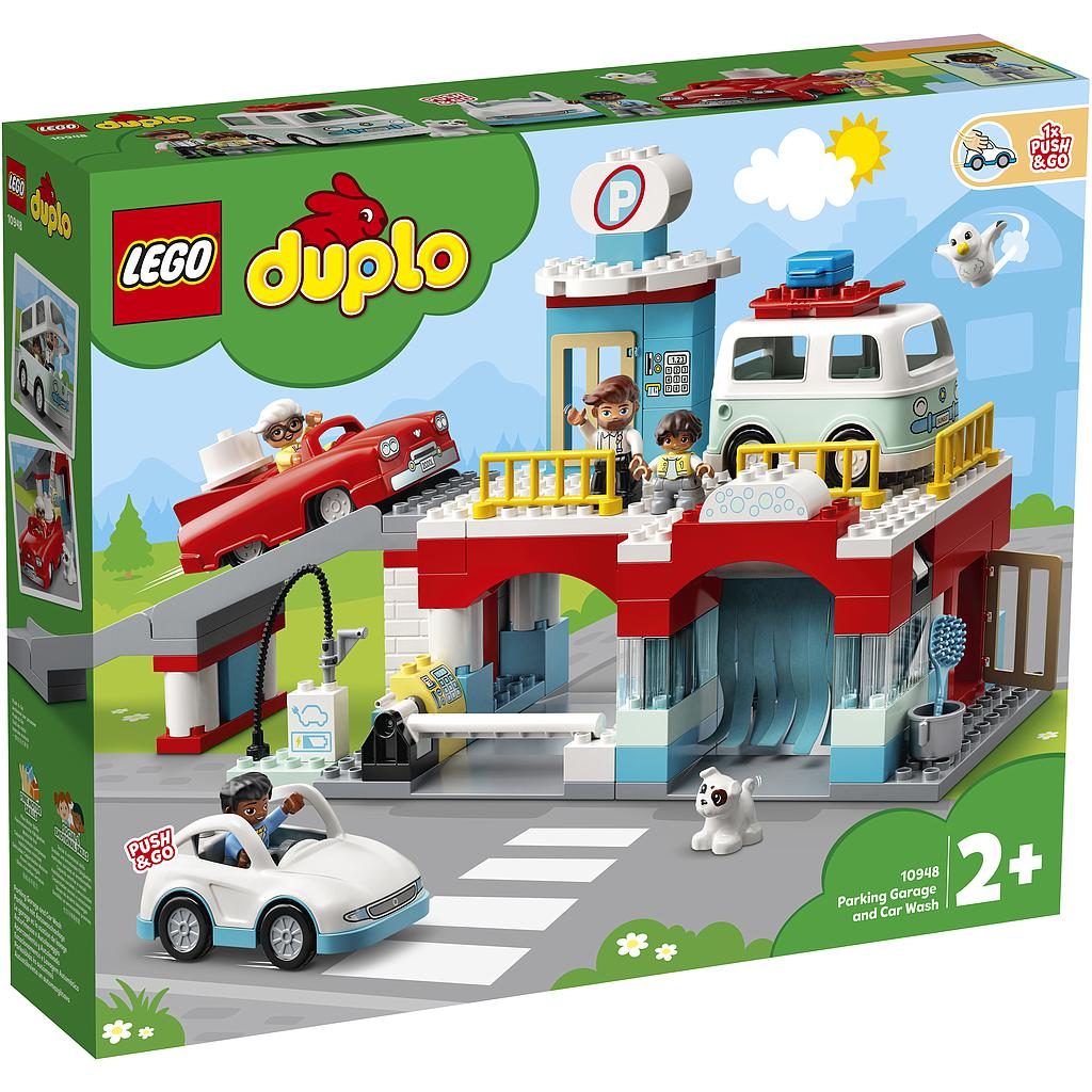LEGO DUPLO Parkimismaja ja aut..