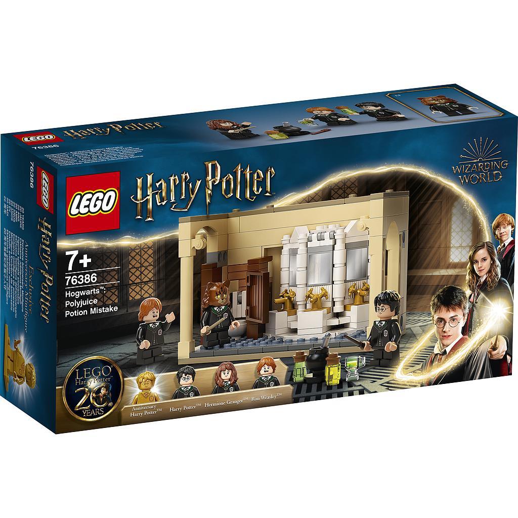 LEGO Harry Potter Polyjuice'i nõiajoogi eksitus