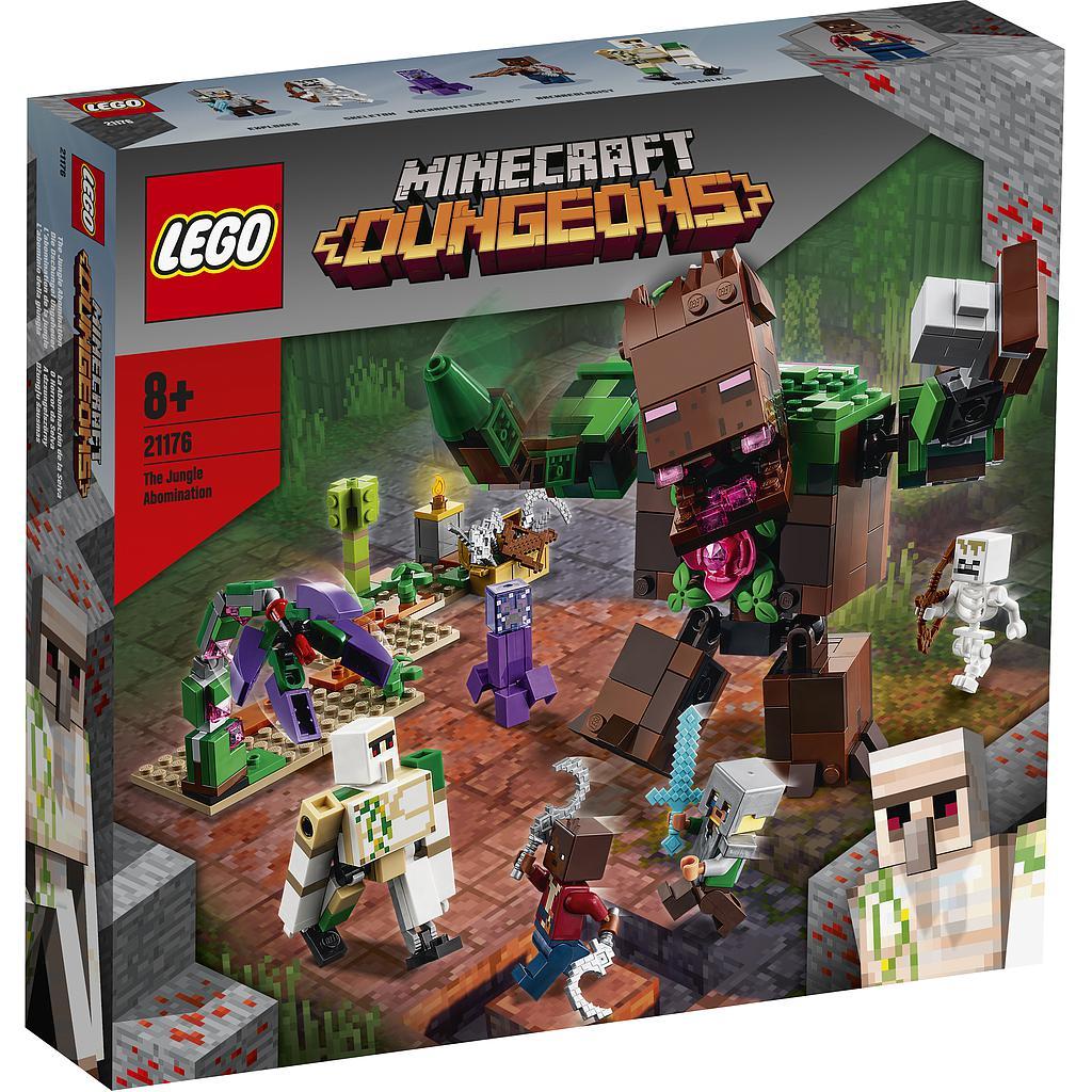 LEGO Minecraft Džunglipeletis..