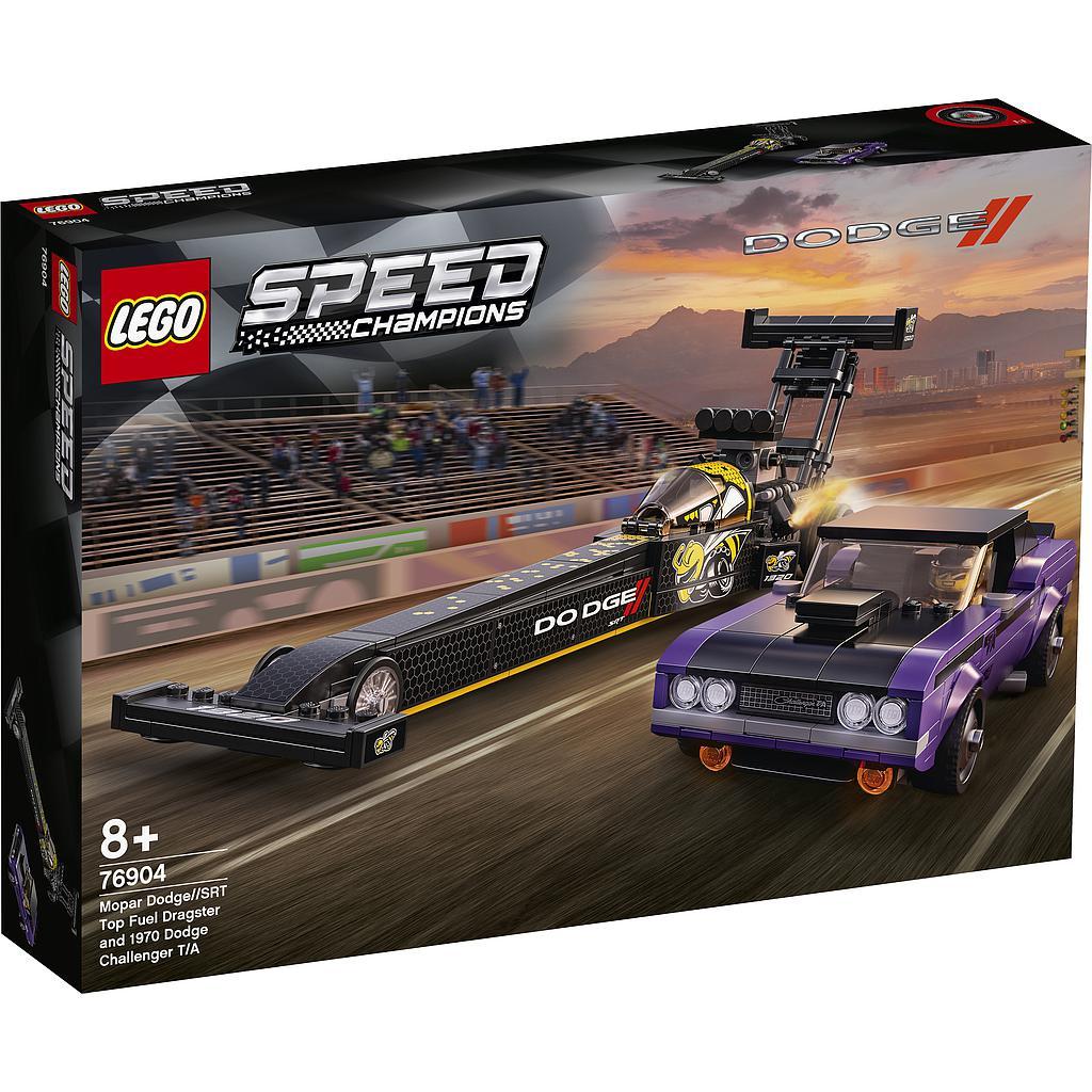 LEGO Speed Champions Mopar Dodge//SRT Top Fuel Dra..