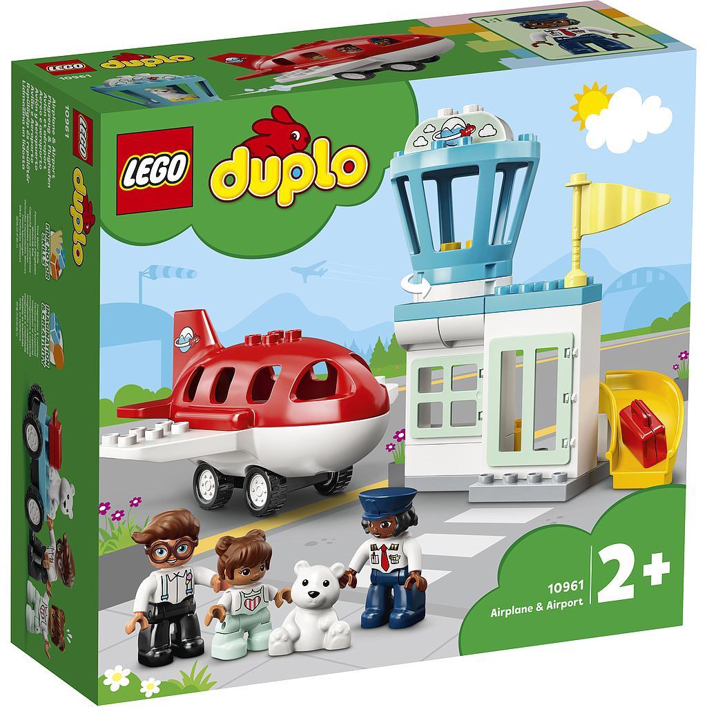 LEGO DUPLO Lennuk ja lennujaam