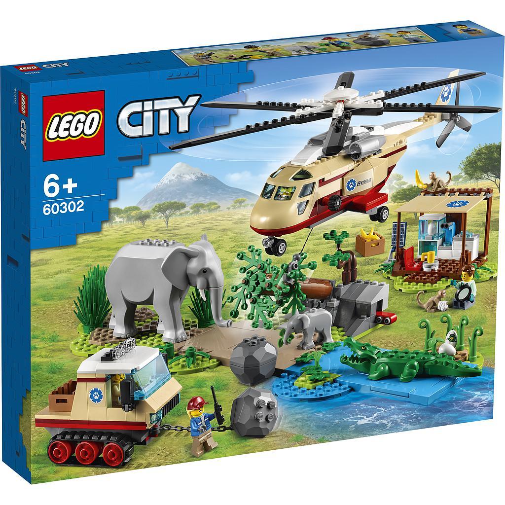 LEGO City Metsapäästeoperatsioon
