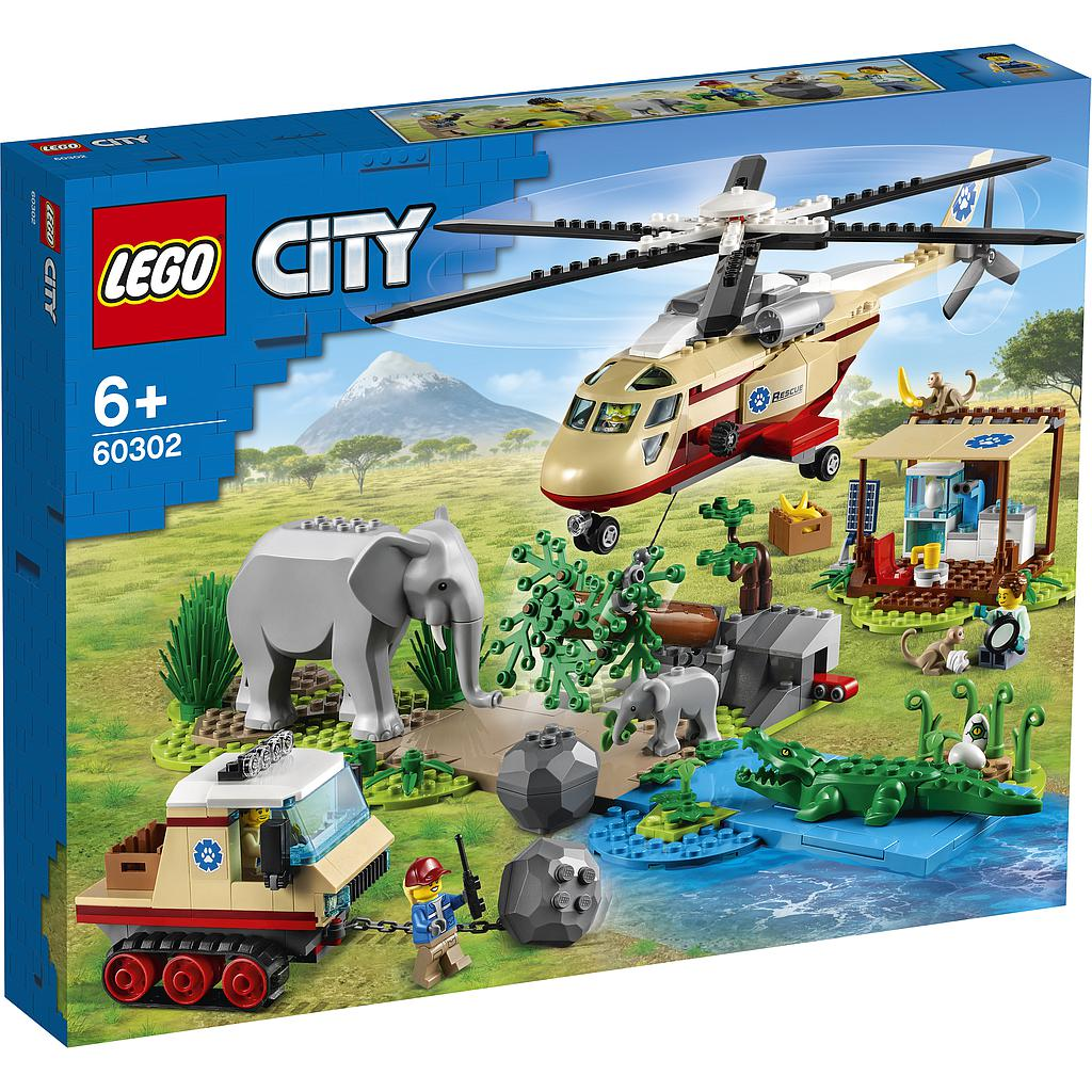 LEGO City Metsapääst..