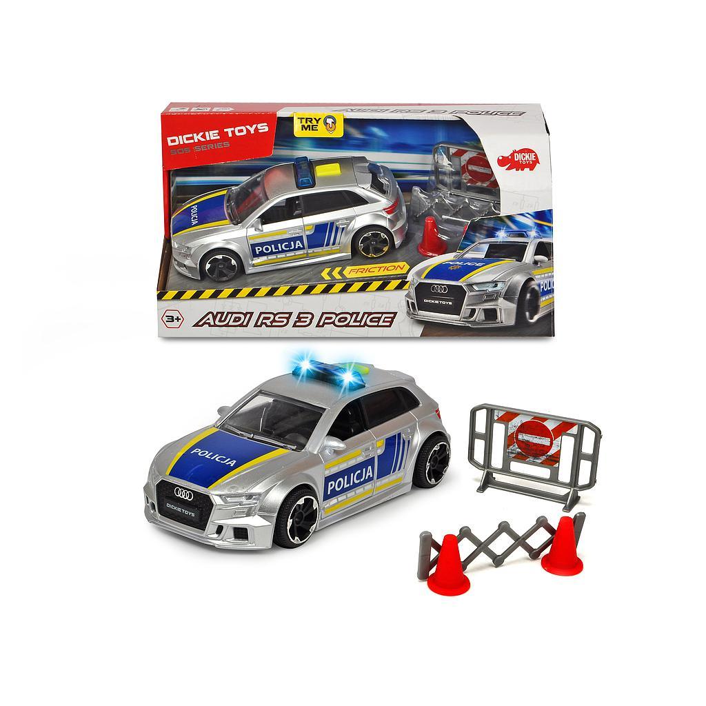 Dickie Toys politsei Audi RS..
