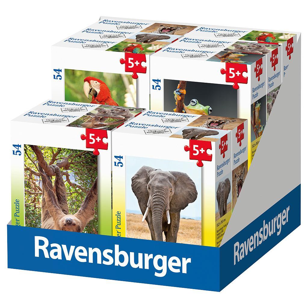 Ravensburger minipusle 54 tk Eksootilised loomad