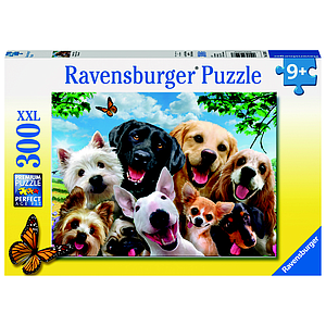 Ravensburger XXL Puzzle 300 pc Delighted Dogs
