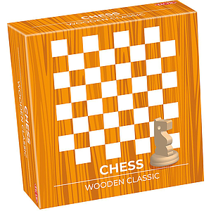 Tactic Wooden Classic Chess (small)