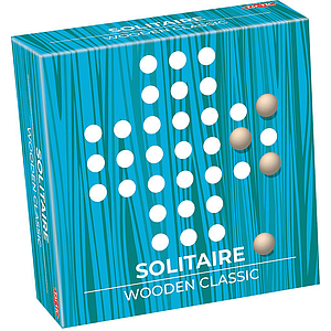 Tactic Wooden Classic Solitaire