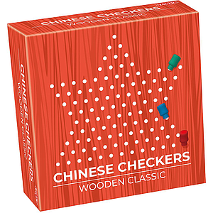 Tactic board game Wooden Chinese Checkers