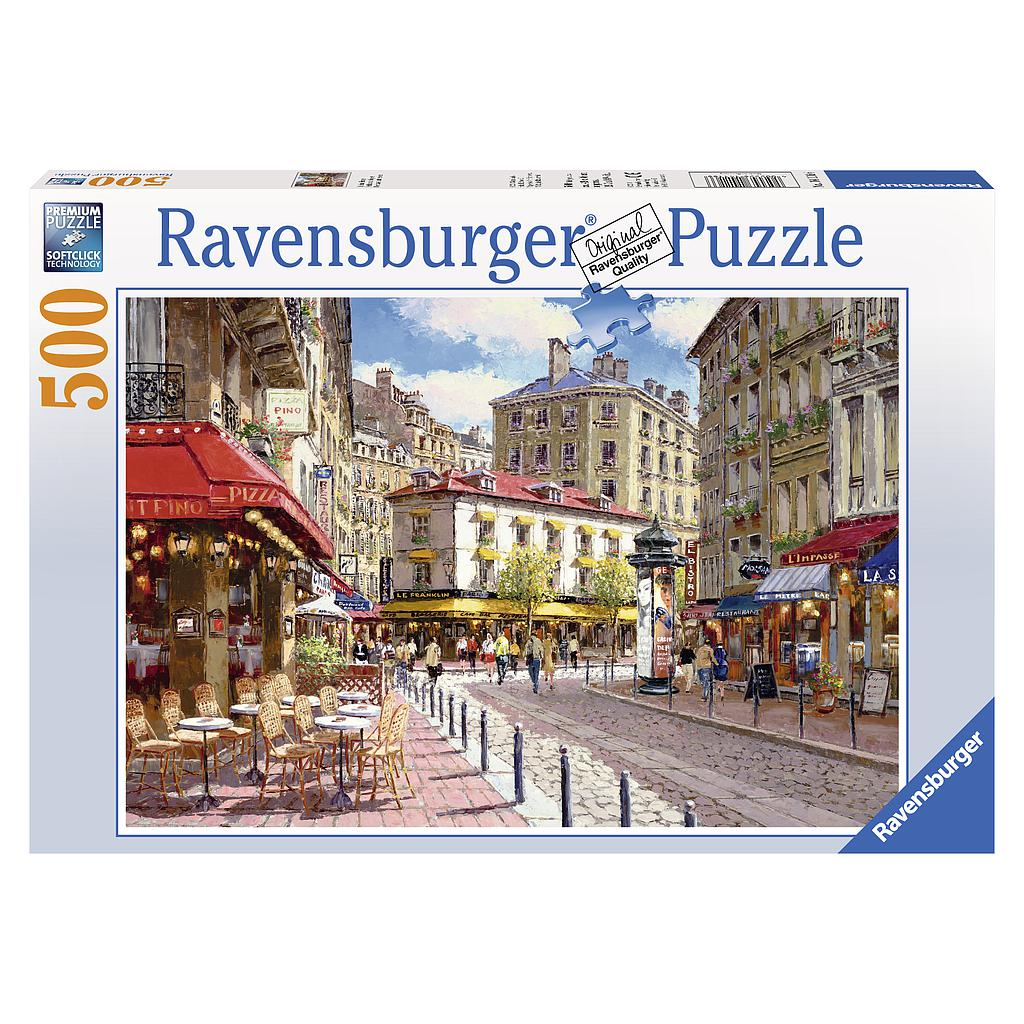 Ravensburger Puzzle 500 pc French Town