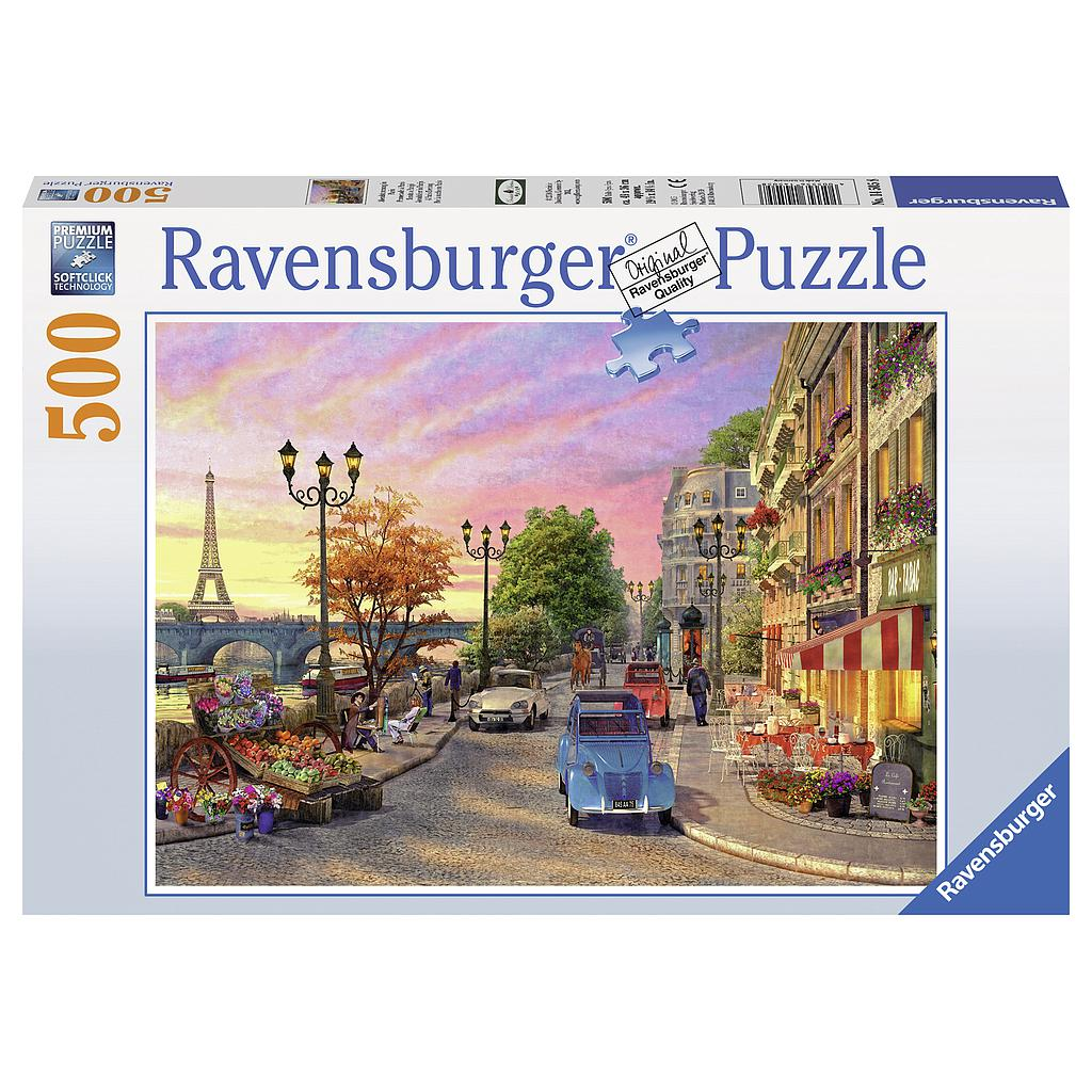 Ravensburger Puzzle 500 pc A Paris Evening