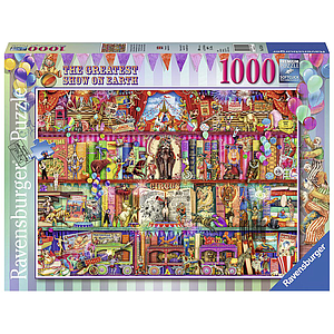 Ravensburger Puzzle 1000 pc The Greatest Show on Earth