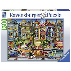 Ravensburger Puzzle 1500 pc The Painted Ladies
