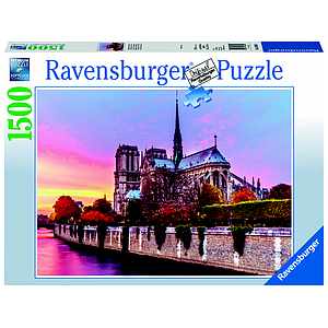 Ravensburger Puzzle 1500 pc Picturesque Notre Dame