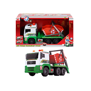 Dickie Toys Container Truck with Air Pump