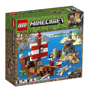 LEGO Minecraft The Pirate Ship Adventure