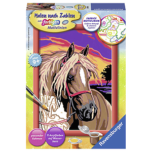 Ravensburger Paint by Numbers- Horse