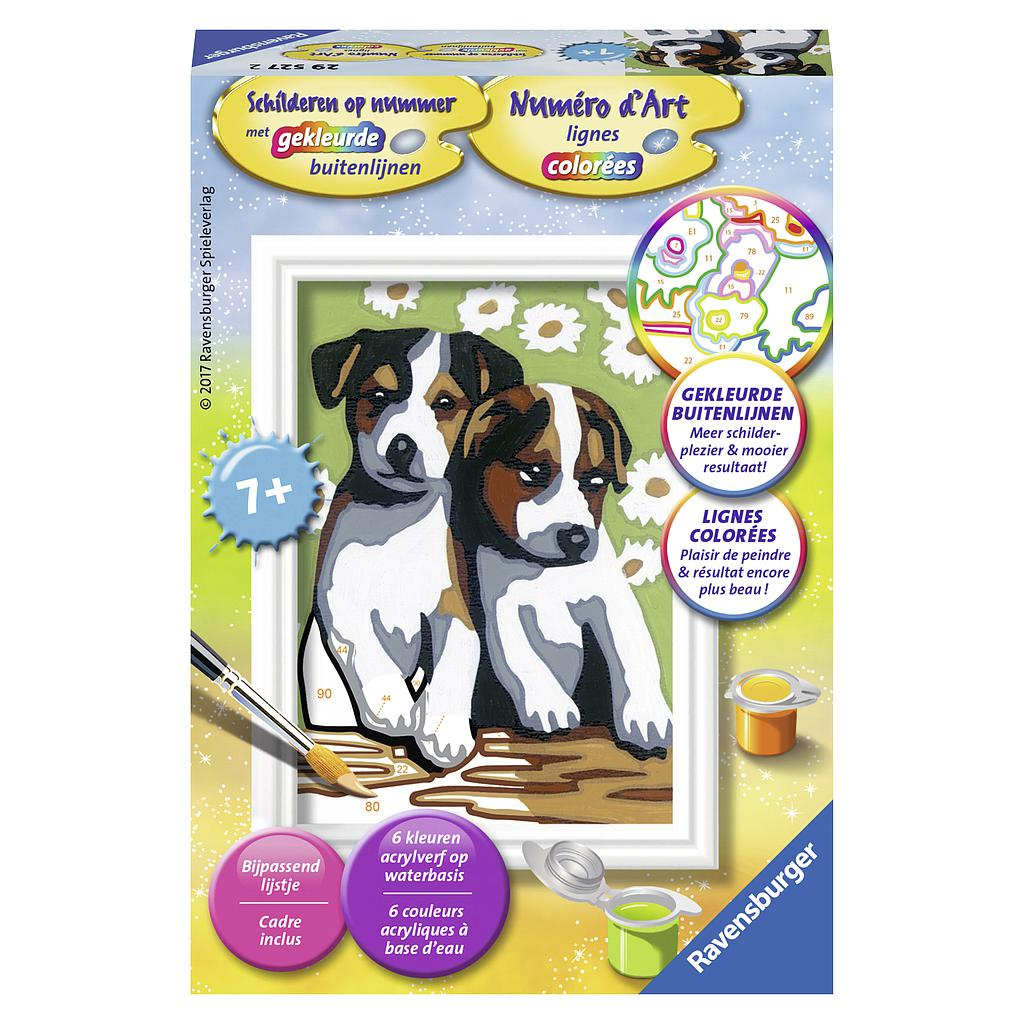 Ravensburger Paint by Numbers- Puppies