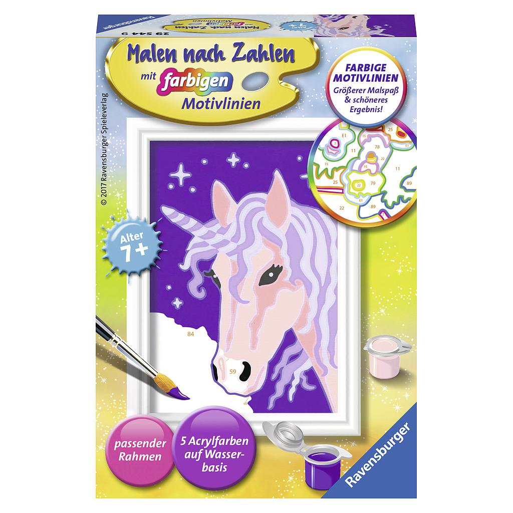 Ravensburger Paint by Numbers- Unicorn