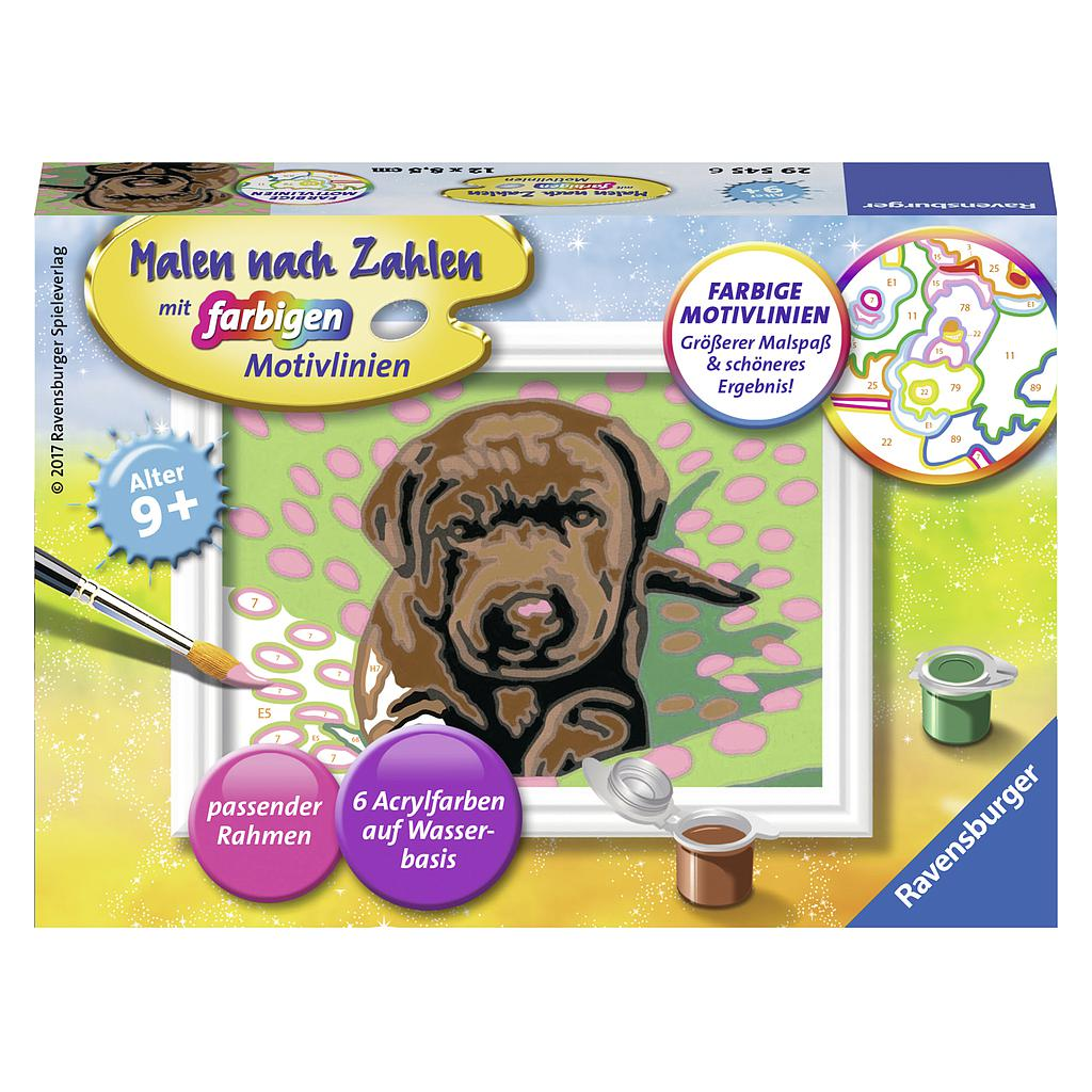 Ravensburger Paint by Numbers- Puppie