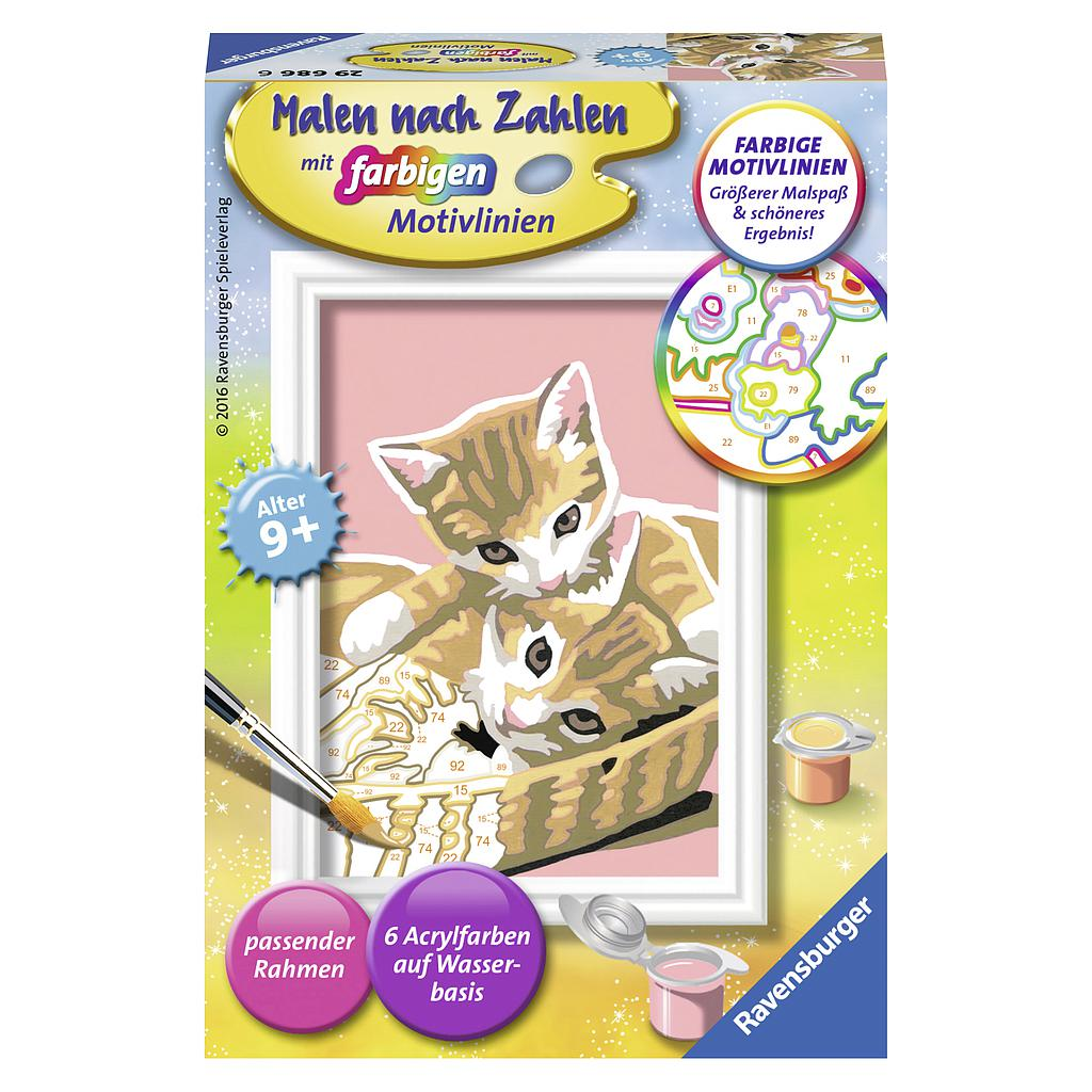 Ravensburger Paint by Numbers- Kitties