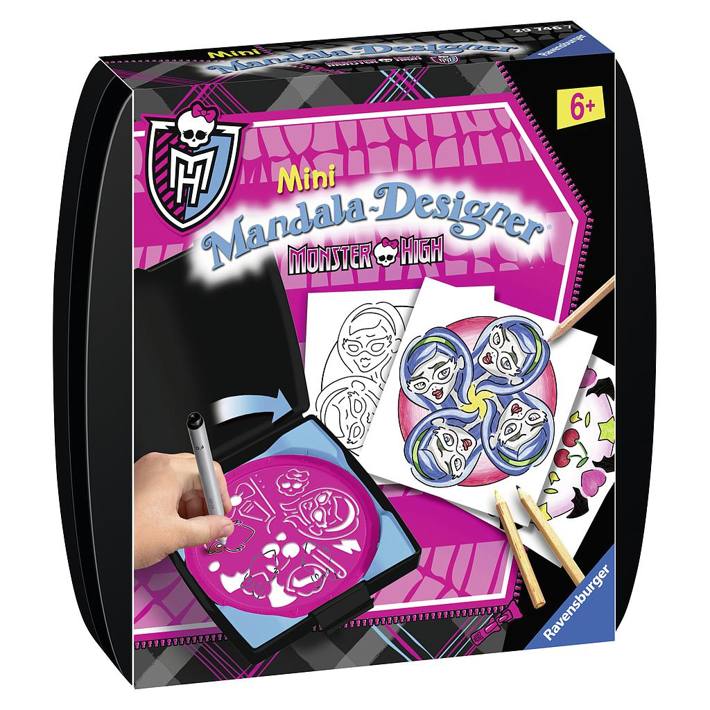 Ravensburger Mini Mandala Monster High