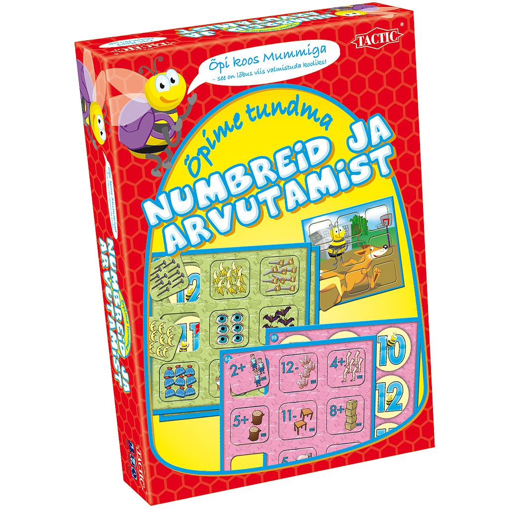 "Tactic board game ""Let's learn numbers and calculation"""