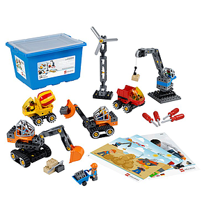 LEGO Education Tech Machines Set with Storage