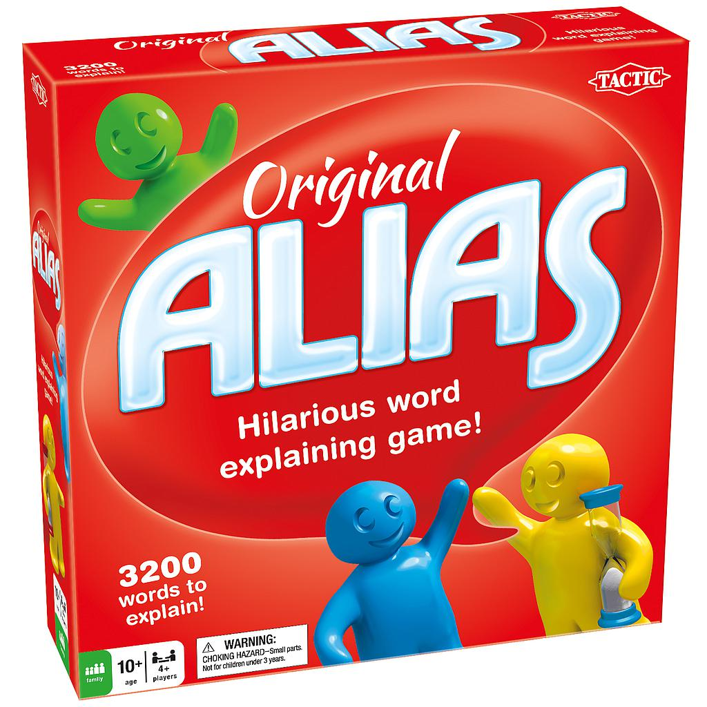 Tactic Board Game Original Alias