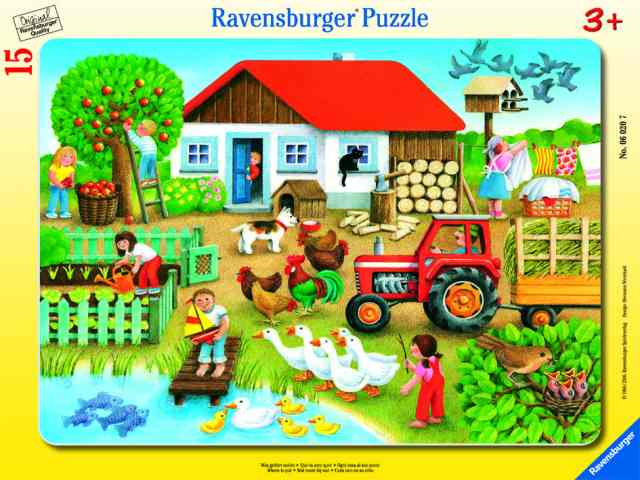 Ravensburger Frame Puzzle Where to put it 15 pc