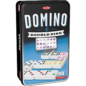 Tactic Double 9 Domino Board Game
