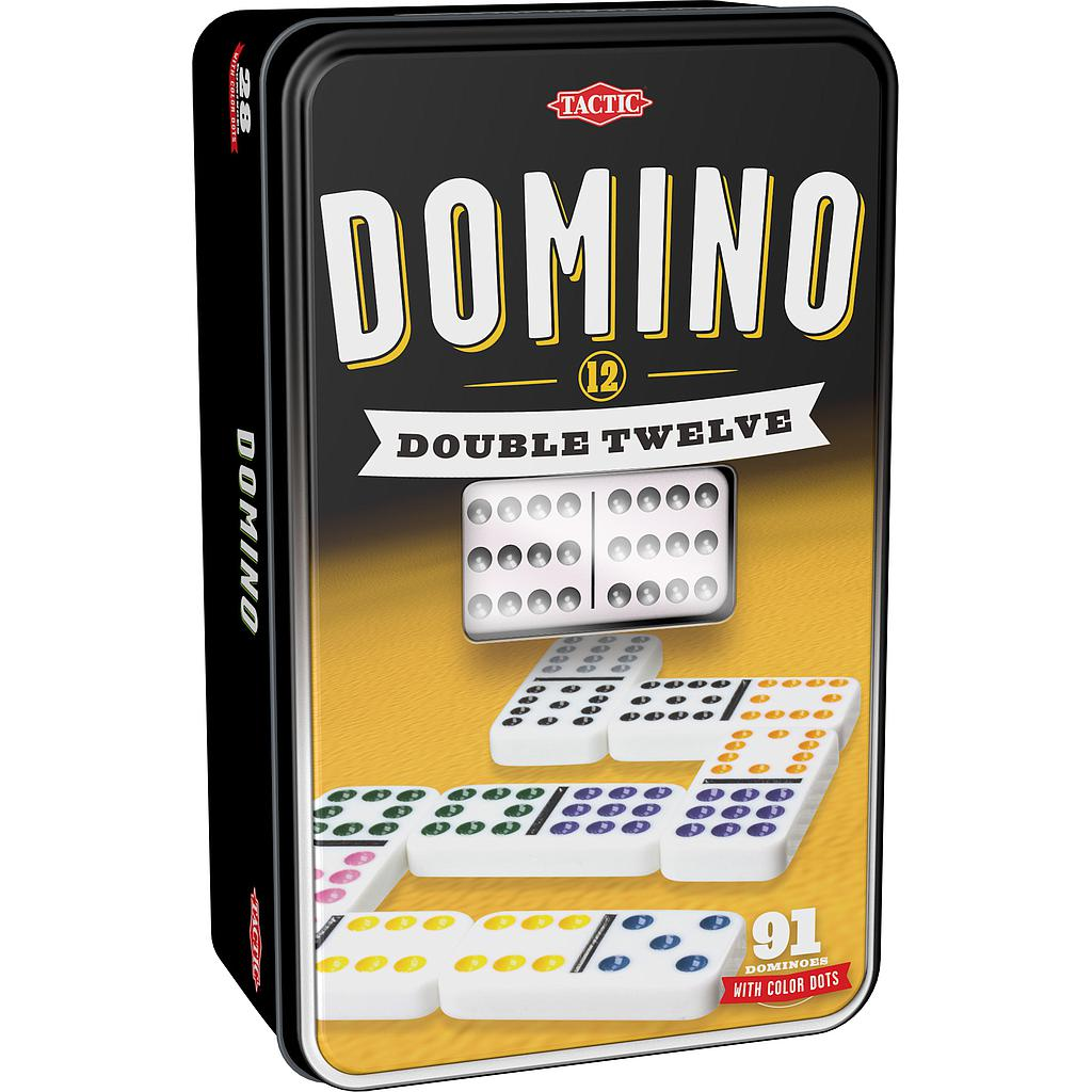 Tactic Board Game Double 12 Domino