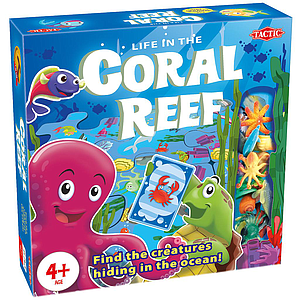 Tactic Coral Reef board game