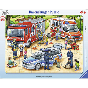 Ravensburger Frame Puzzle 30 pc Special Jobs